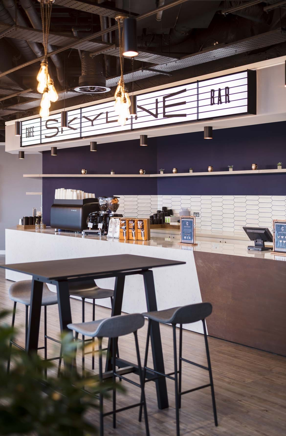 NBC Universal – Skyline coffee bar