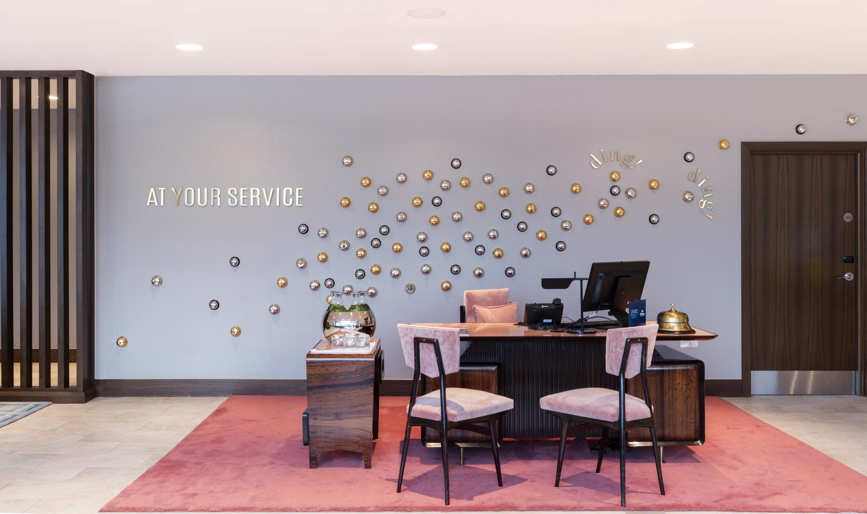Hilton Bournemouth – Concierge and hospitality desk