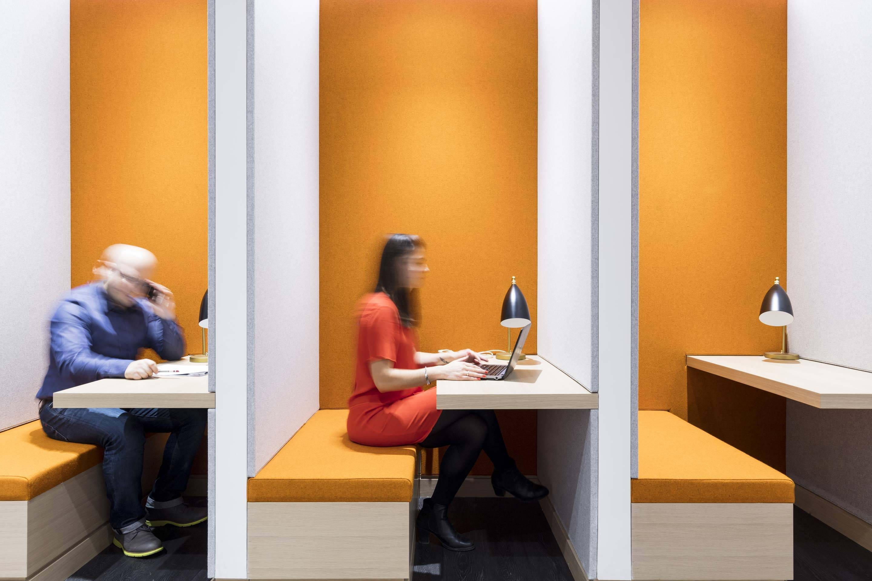 Thomson Reuters – Individual working booths